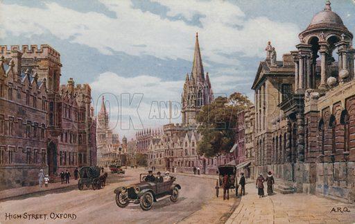 High Street, Oxford.