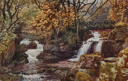 Glen Lyn, Lynmouth.