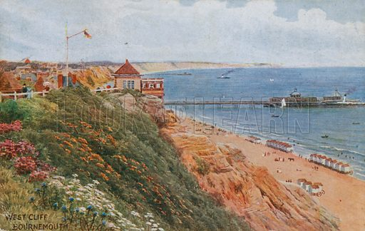 West Cliff, Bournemouth.