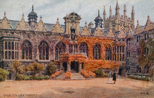 Oriel College, Oxford.