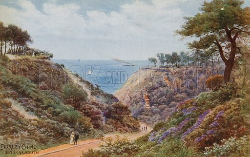 Durley Chine, Bournemouth.