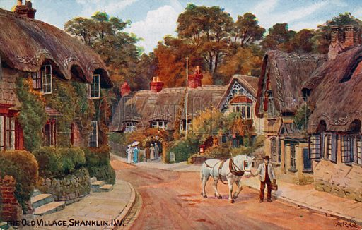 Old Village, Shanklin, Isle of Wight.