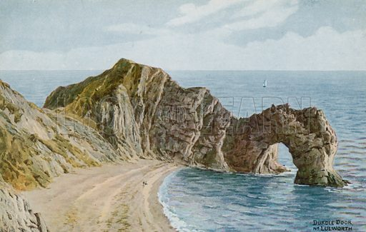 Durdle Door near Lulworth.