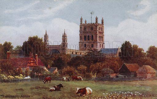 Twekesbury Abbey.