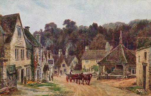 Castle Combe, Wiltshire.