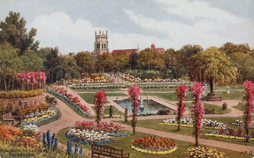 Kingsnorth Gardens, Folkestone.