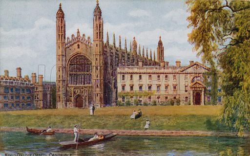 Kings College Chapel, Cambridge.