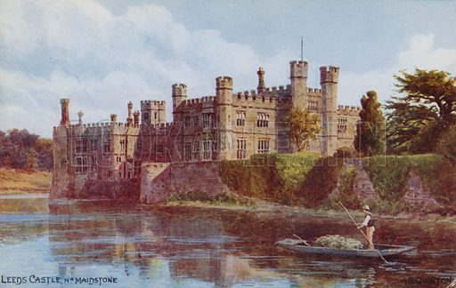 Leeds Castle near Maidstone.