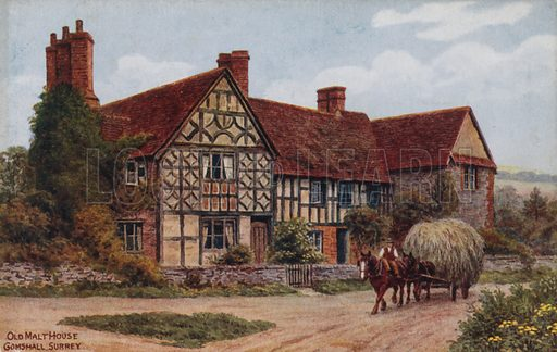 Old Malt House, Gomshall, Surrey.