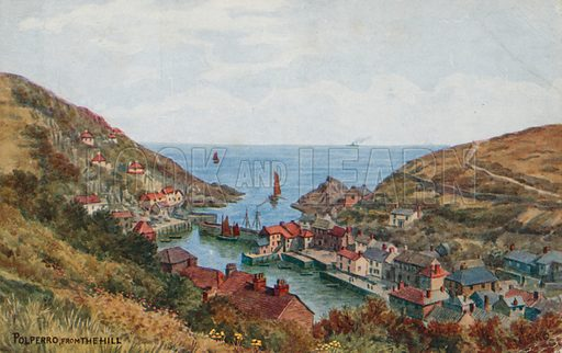 Polperro from the Hill.