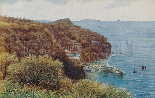 Clovelly from Hobby Drive.