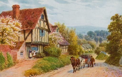 Cropthorne Hill near Evesham.