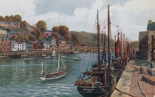 The Quay, Looe.
