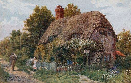 Little Jane's Cottage, Brading,  Isle of Wight.