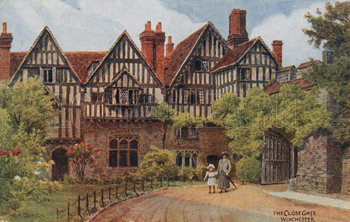 The Close Gate, Winchester.