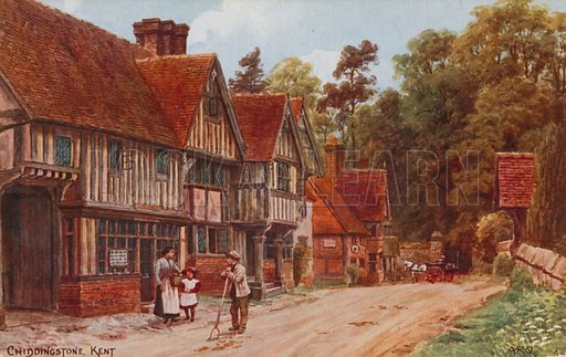 Chiddingstone, Kent.