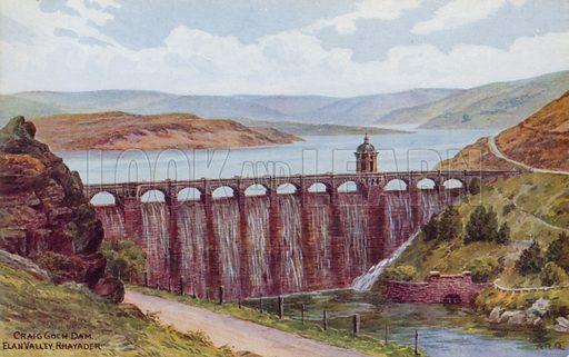 Craig Goch Dam, Elan Valley, Rhayader.