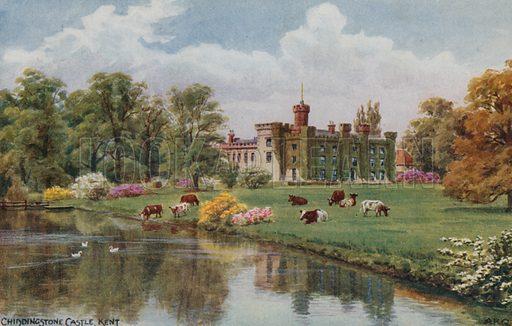 Chiddingstone Castle, Kent.