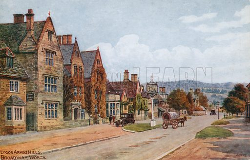 The Lygon Arms, Broadway, Worcestershire.