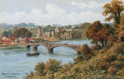 Bridge and Castle, Chepstow.