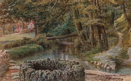 The Wishing Well, Upwey, Weymouth.