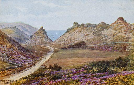 Valley of Rocks, Lynton.