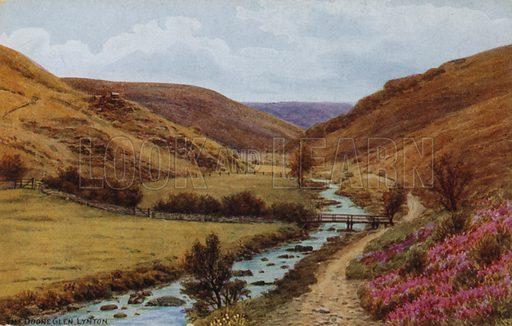 The Doone Glen, Lynton.