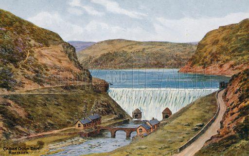 Caban Goch Dam, Rhayader.