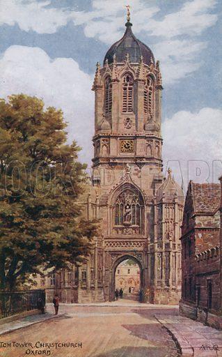Tom Tower, Christchurch, Oxford.