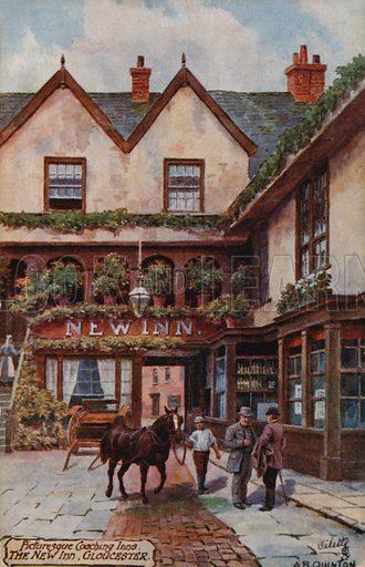 New Inn, Gloucester.