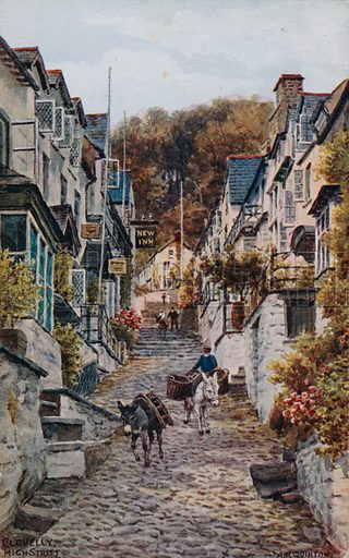 High Street, Clovelly.