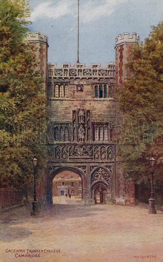 Gateway Trinity College, Cambridge.