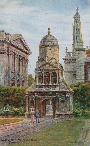 Gate of Honour, Caius College, Cambridge.