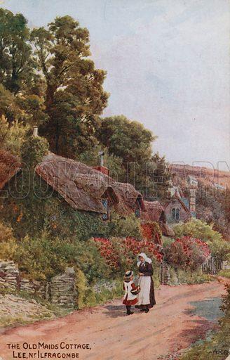 Old Maids Cottage, Lee, Ilfracombe.