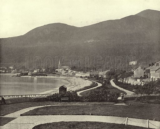 Newcastle, County Down. Photograph from Ireland in Pictures (JS Hyland & Co, 1888).