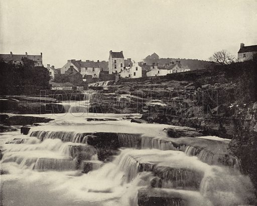 Ennistymon, County Clare. Photograph from Ireland in Pictures (JS Hyland & Co, 1888).