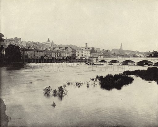 Fermoy, County Cork. Photograph from Ireland in Pictures (JS Hyland & Co, 1888).