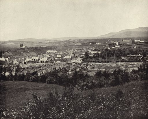 Glenties, Co Donegal. Photograph from Ireland in Pictures (JS Hyland & Co, 1888).