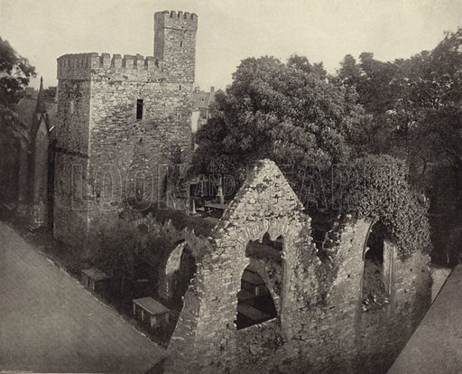 Selskar Abbey, Wexford. Photograph from Ireland in Pictures (JS Hyland & Co, 1888).