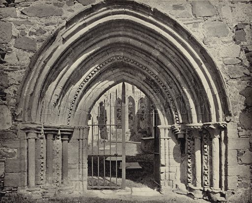 Archway, Grey Abbey, Co Down. Photograph from Ireland in Pictures (JS Hyland & Co, 1888).