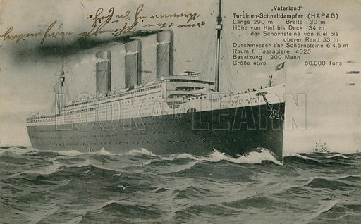 Postcards, now ironic, sent in 1913