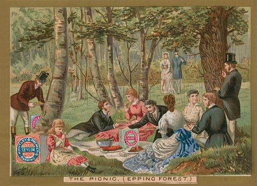 picnic, picture, image, illustration