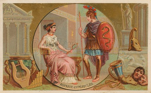 Aspasia and Pericles.