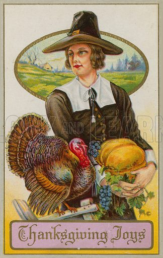 American Thanksgiving Day Card
