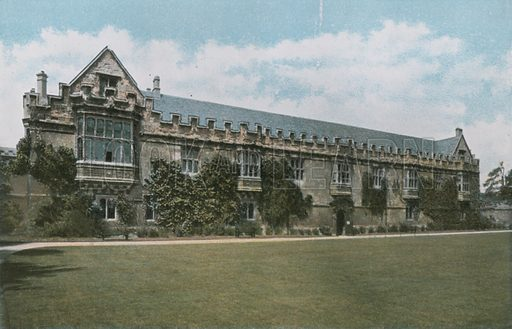 St. John's College. Photograph from Pictures in Colour of Oxford (Jarrold, 1900).
