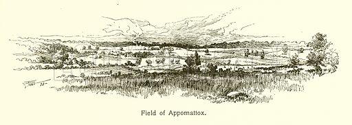 Field of Appomattox. Illustration for American Landmarks (Balch, 1893).