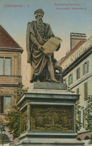 Gutenberg Monument, Strasbourg