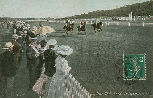 Horse racing at Deauville
