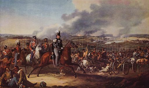 The battle of Borodino - Look and Learn History Picture Library