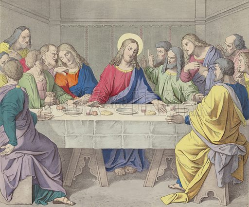 Jesus institutes the Holy Eucharist
